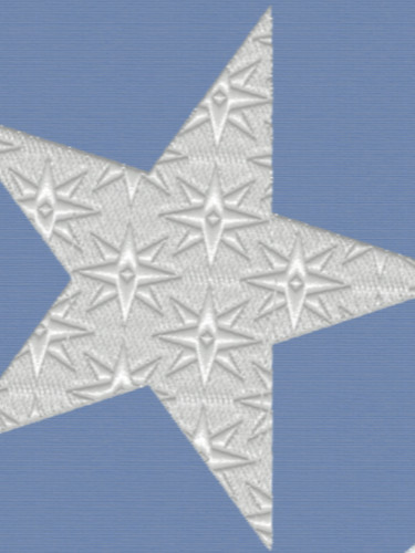 Stars in Star Embroidery
