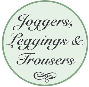joggers, leggings and trousers