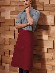 Full length bar apron