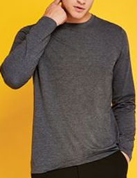 Superwash long sleeve t-shirt