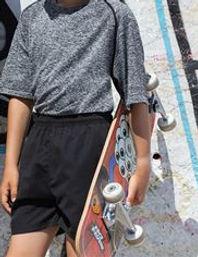 Children's track shorts