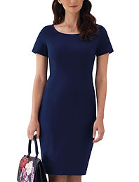 Tailored shift dress