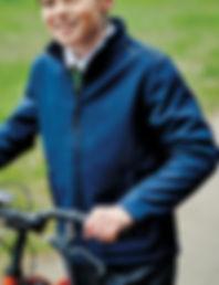 Children's softshell jacket