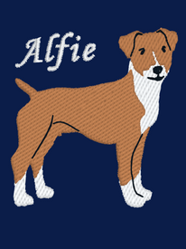 Plummer Terrier Embroidery