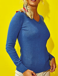 Women's v'neck sweater