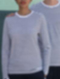 Unisex long sleeved t-shirt