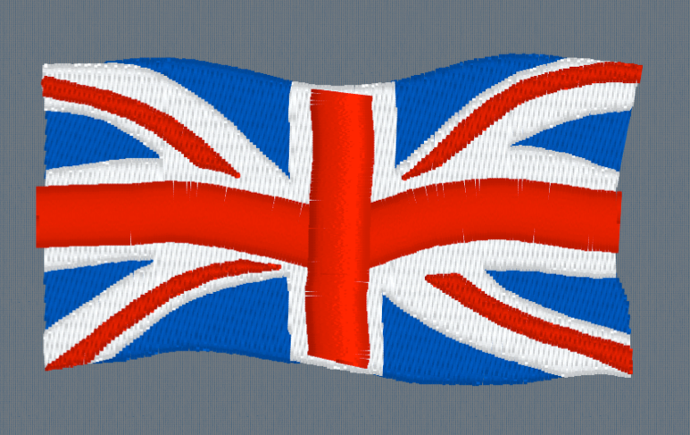 Union Jack  Embroidery