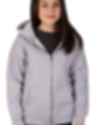 Children's zipped hoodie