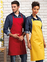 Plain apron