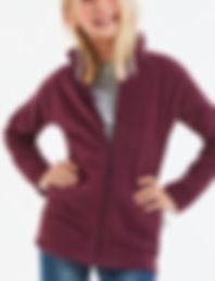 Children's zipped fleece