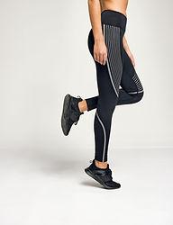 Reflective sports leggings