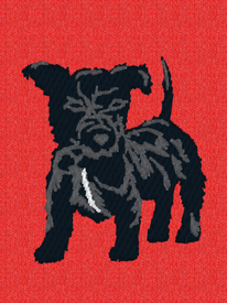 Fell Terrier Embroidery
