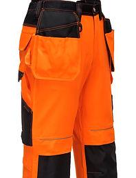 Hi-vis work trouser
