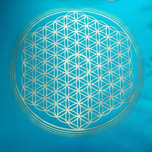 Energie Kissen - Blume des Lebens 5.D