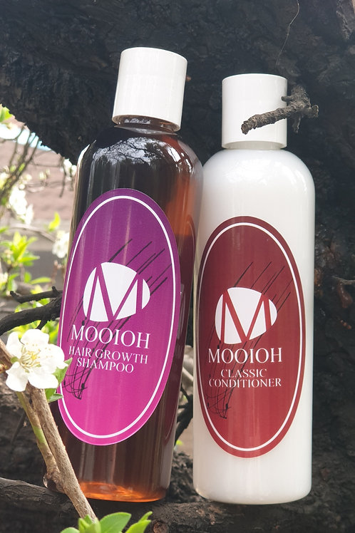 *Mooioh Hair Growth Shampoo & Classic Conditioner Combo