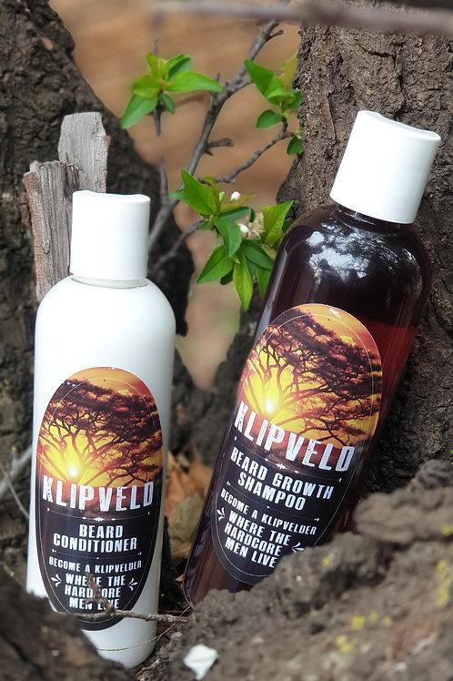*Klipveld Beard Growth Shampoo & Conditioner Combo