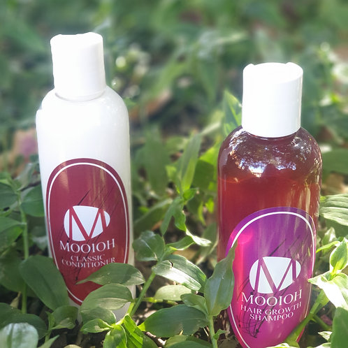 Mooioh Hair Growth Shampoo & Classic Conditioner Combo