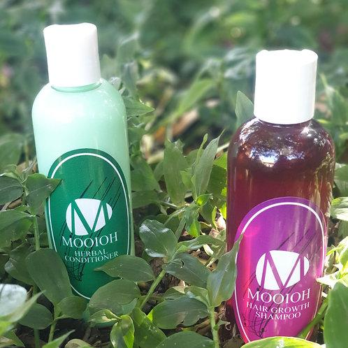 Mooioh Hair Growth Shampoo & Herbal Conditioner