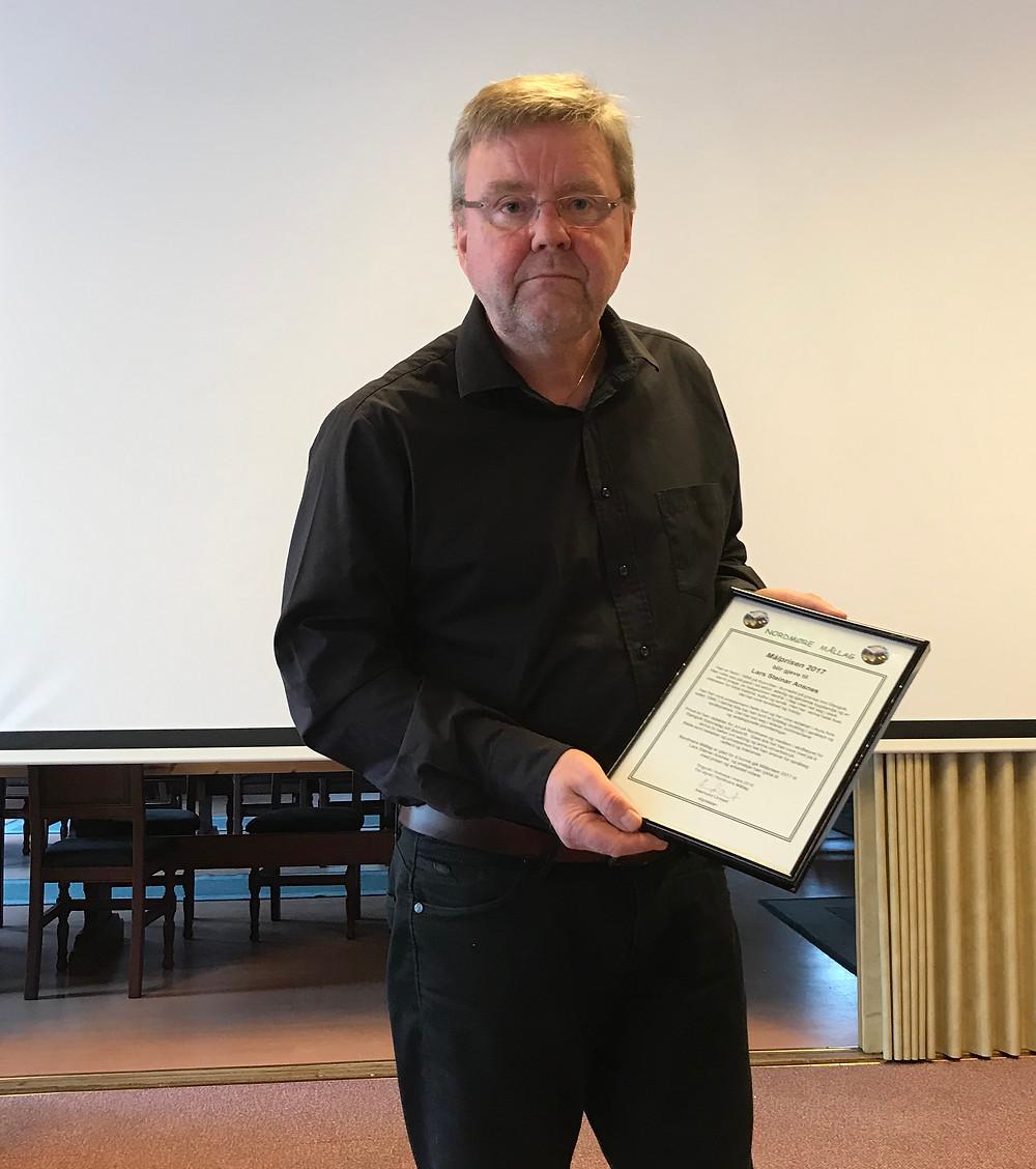 Målprisen 2017 går til Lars Steinar Ansnes