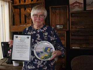 Målprisen til Ann Ingeborg Grimsmo