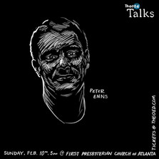 Peter Enns portrait for TheoEd Talks
