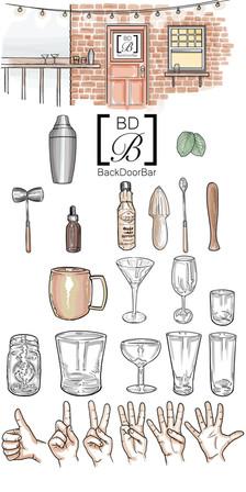 Backdoor Bar Blog art
