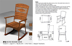 Wicker chair concept