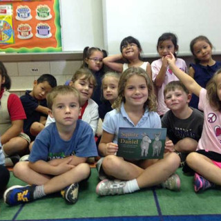 Elementary school reading!