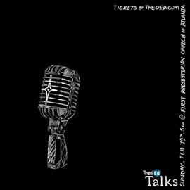 TheoEd Talks microphone