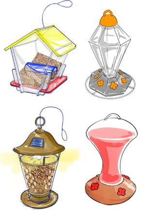 Bird Feeder Designs