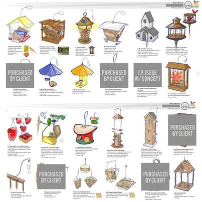 Bird Feeder Concepts