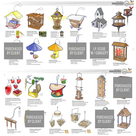 Bird Feeder Concepts