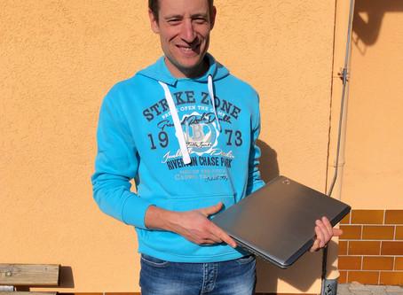 Laptop für die Feriengruppen