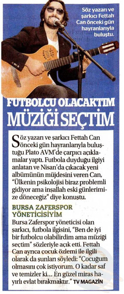 Fettah Can - Plato AVM - Meydan Gazetesi