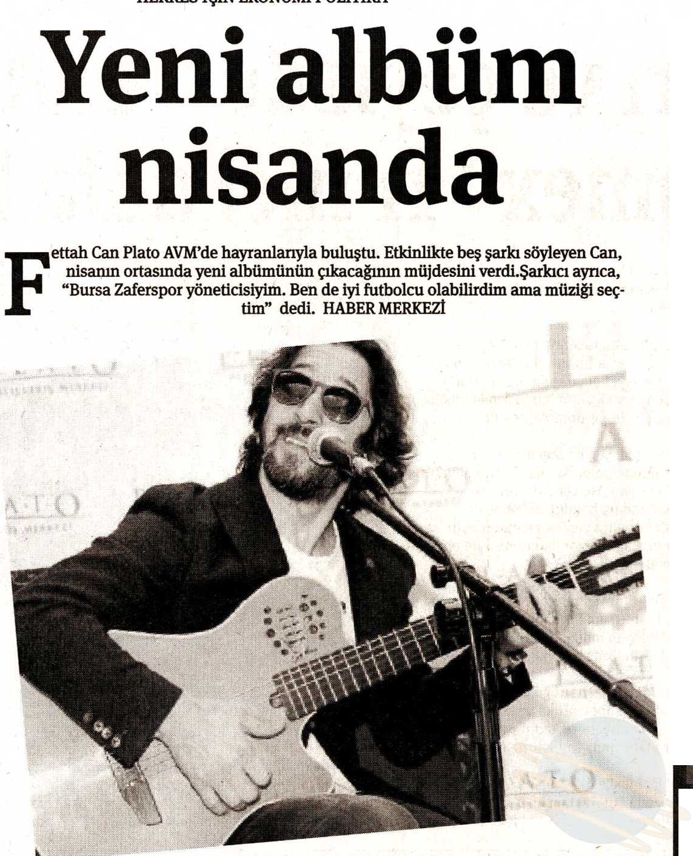 Fettah Can - Plato AVM - Ekonomi Gazetesi