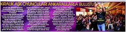 Nergis Kumbasar - Podium Ankara - Posta Gazetesi