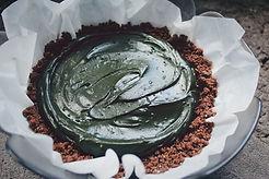 Spirulina-cake