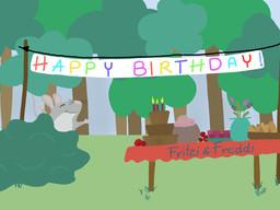 Fritzi hat Geburtstag