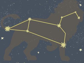 Das Sternbild Löwe
