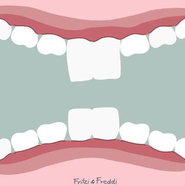 Fritzi und Freddi beim Zahnarzt