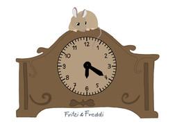 Freddi lernt die Uhr
