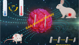 Magnesium alloy with eddy-thermal effect for novel tumor magnetic hyperthermia therapy