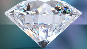 Turning diamond into metal