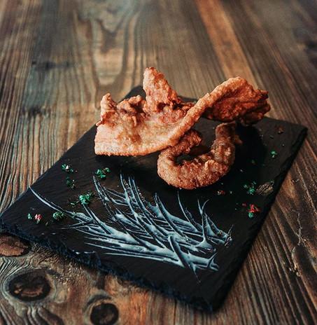 <F Pork> ➡️Pork belly coated with batter