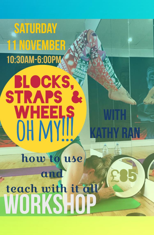 blocks straps wheels