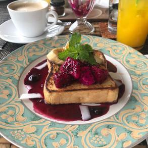 breakfast at resort ala cart
