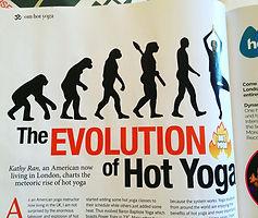 kathy ran hot yoga