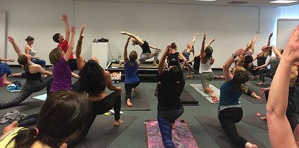 kathy ran Yoga University