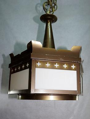 set of 4 Gothic Church Light Fixtures