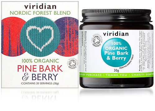 Viridian Organic Pine Bark & Berry